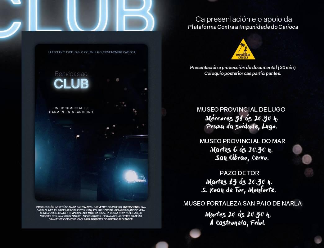 Benvidas ao Club