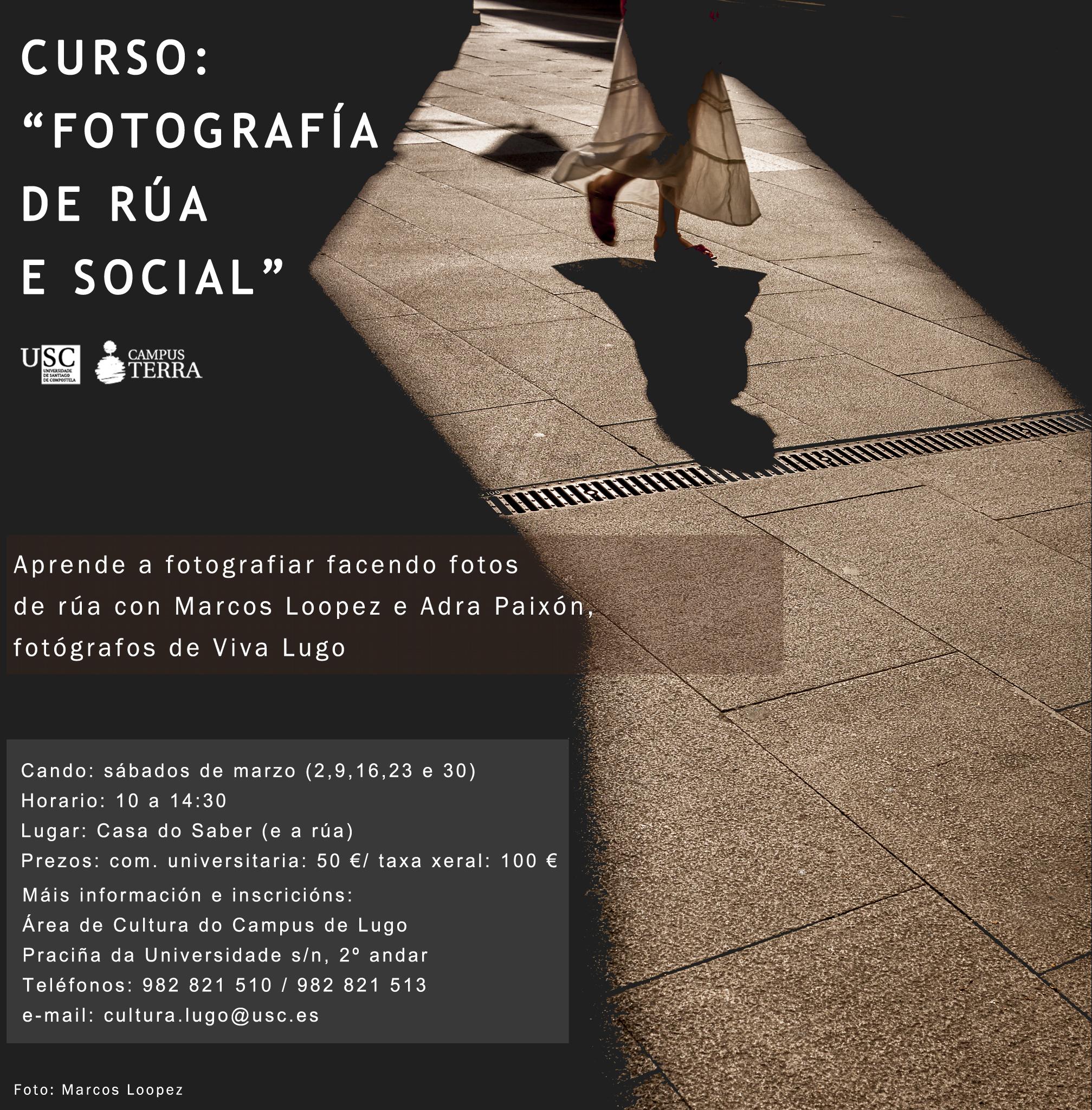 Cursos de fotografía no Campus USC – Lugo