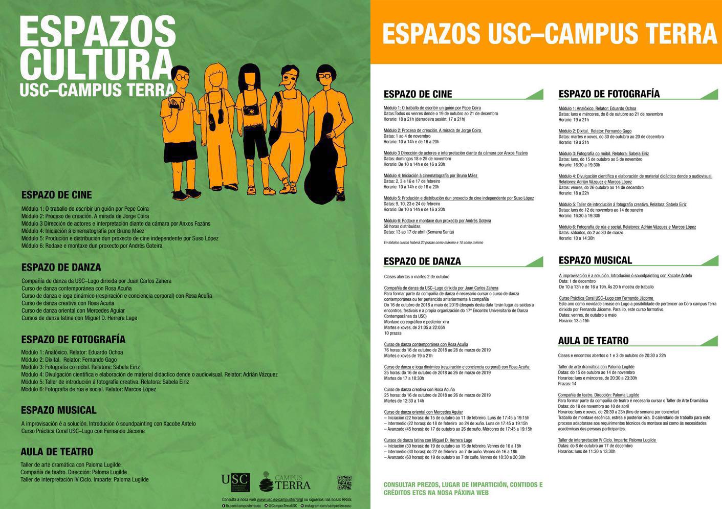 Usc Calendario.Cursos De Fotografia No Campus Usc Lugo Viva Lugo