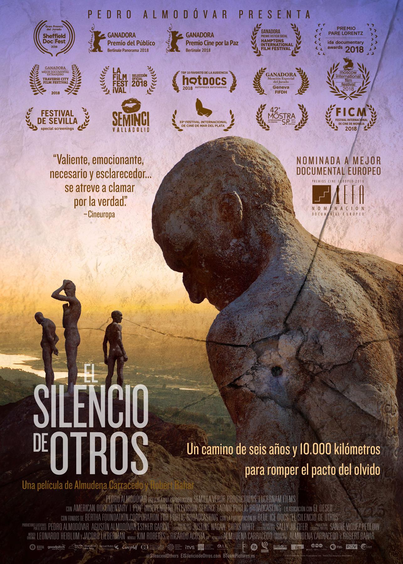 Cartel del documental El silencio de los otros