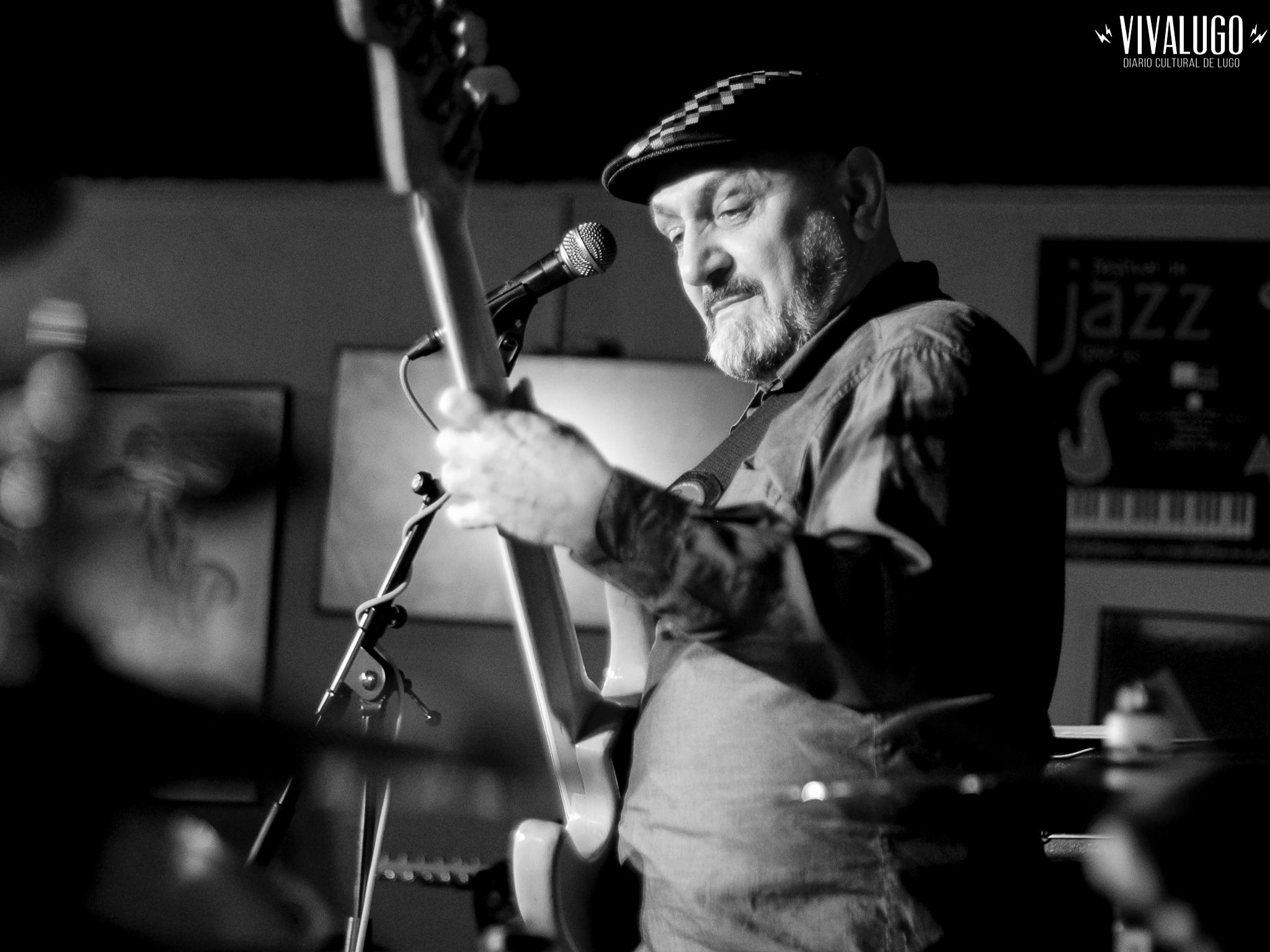 Fotografías: Lagarto Zulú en el Club Clavicémbalo de Lugo
