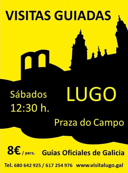 Visitas guiadas ao centro histórico de Lugo