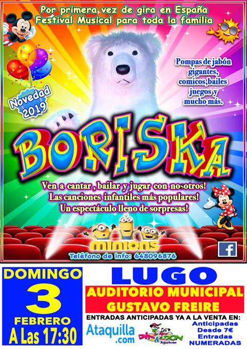 Espéctaculo musical e de circo: Boriska