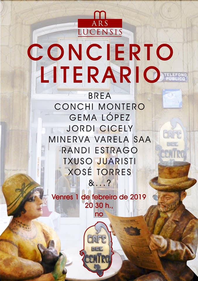 Concierto literario con grandes artistas de Lugo