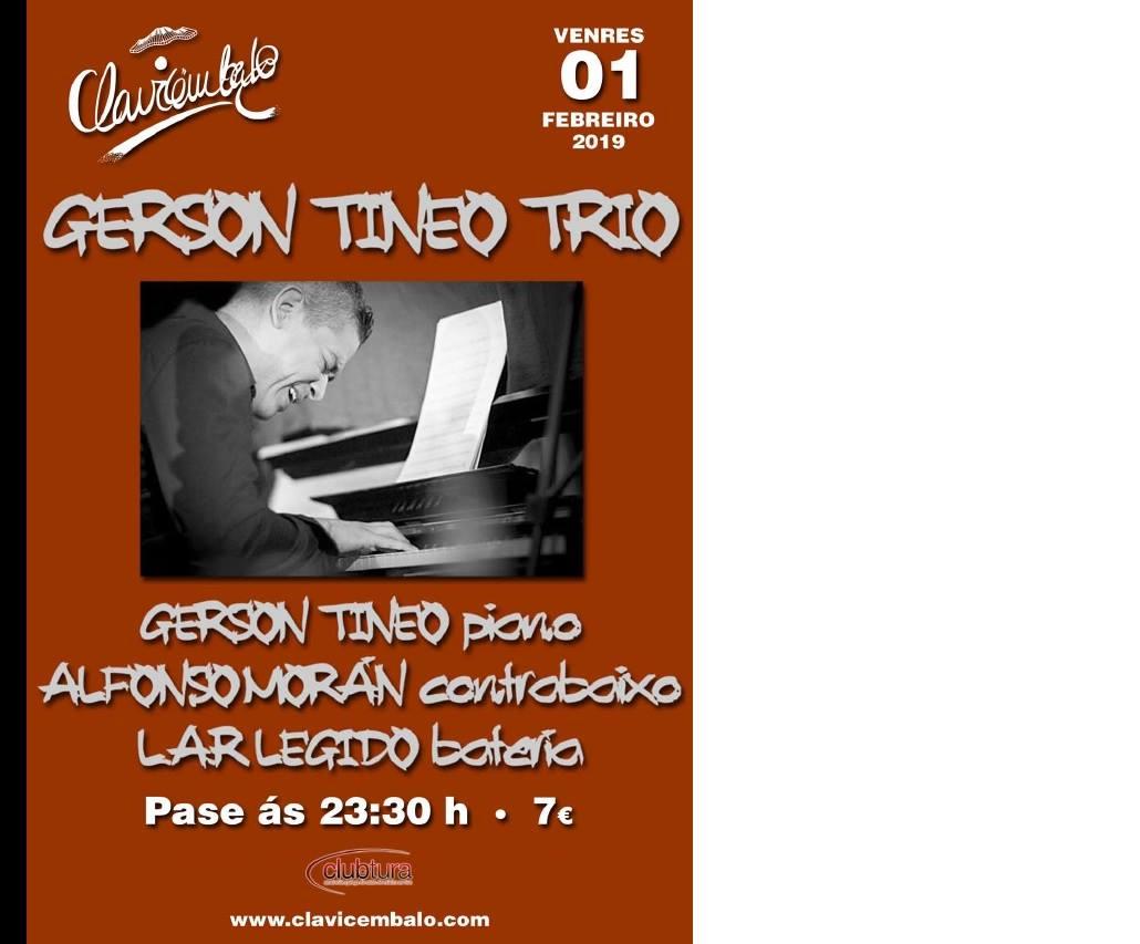 Concierto Gerson Tineo Trio en el Club Clavicémbalo