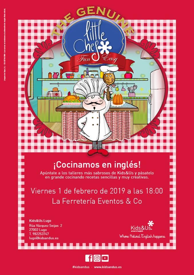 Little Chef, taller de cocina en inglés