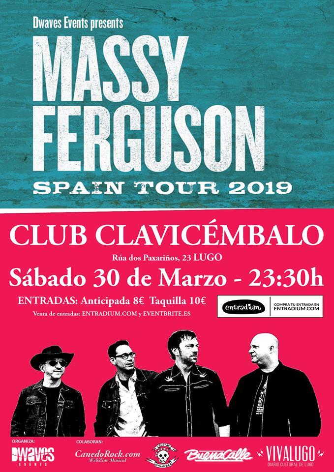 Concierto de Massy Fergusoon en el Clavi de Lugo