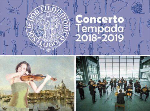 """Concerto: Gloria y """"Il grosso mogul"""" de Vivaldi en Lugo"""