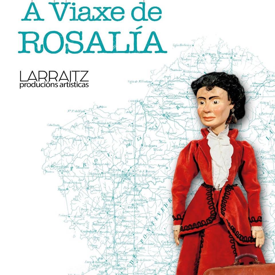 Resultado de imagen de a viaxe de rosalía