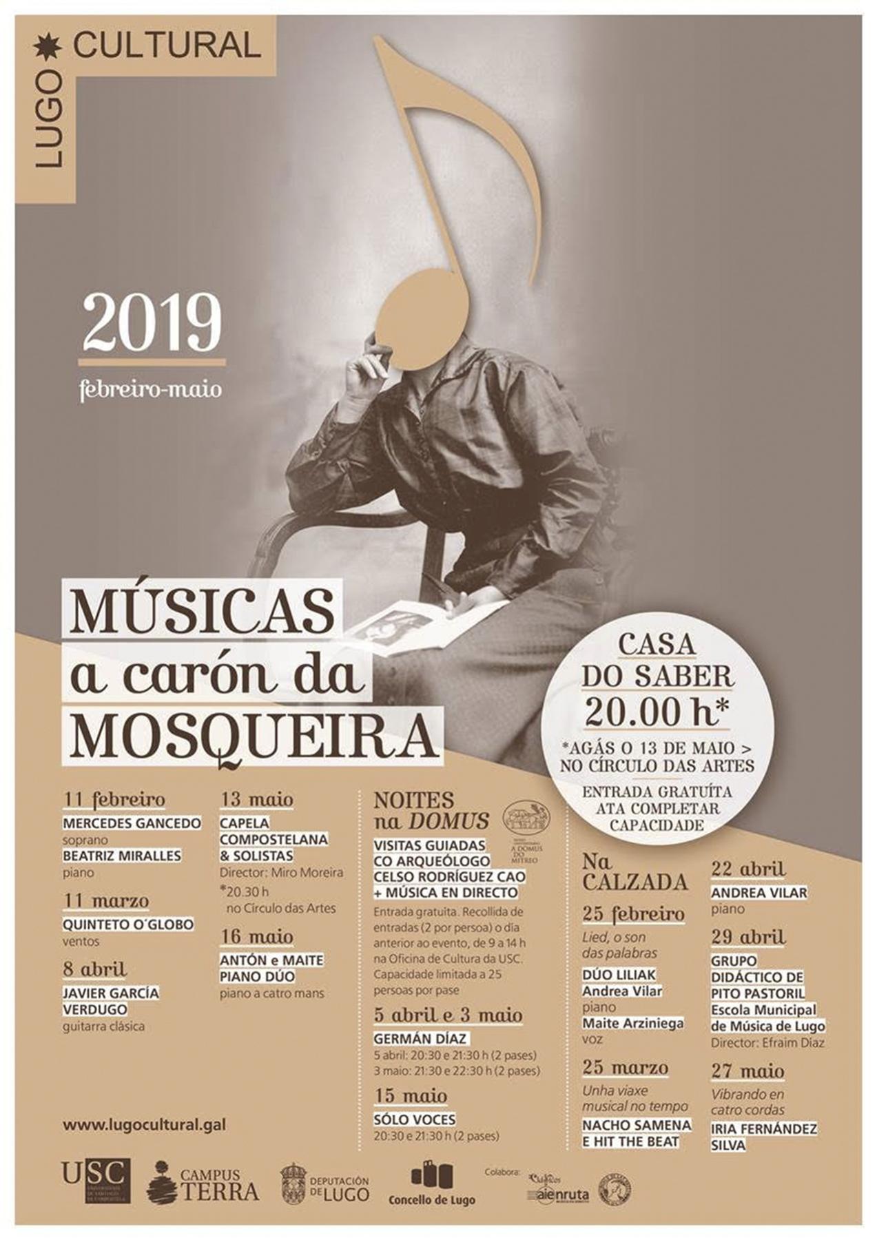 """Músicas ao carón da Mosqueira"" de Lugo Cultural"