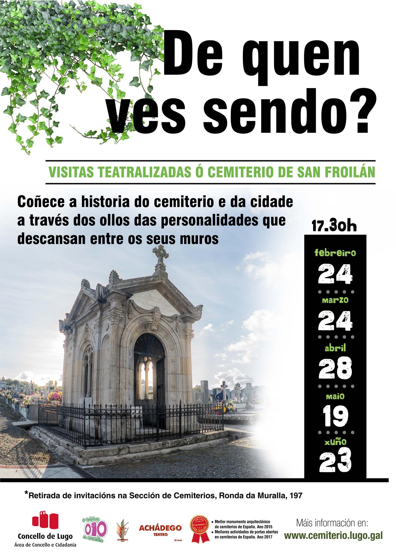 Visitas teatralizadas gratuítas ao Cemiterio de San Froilán