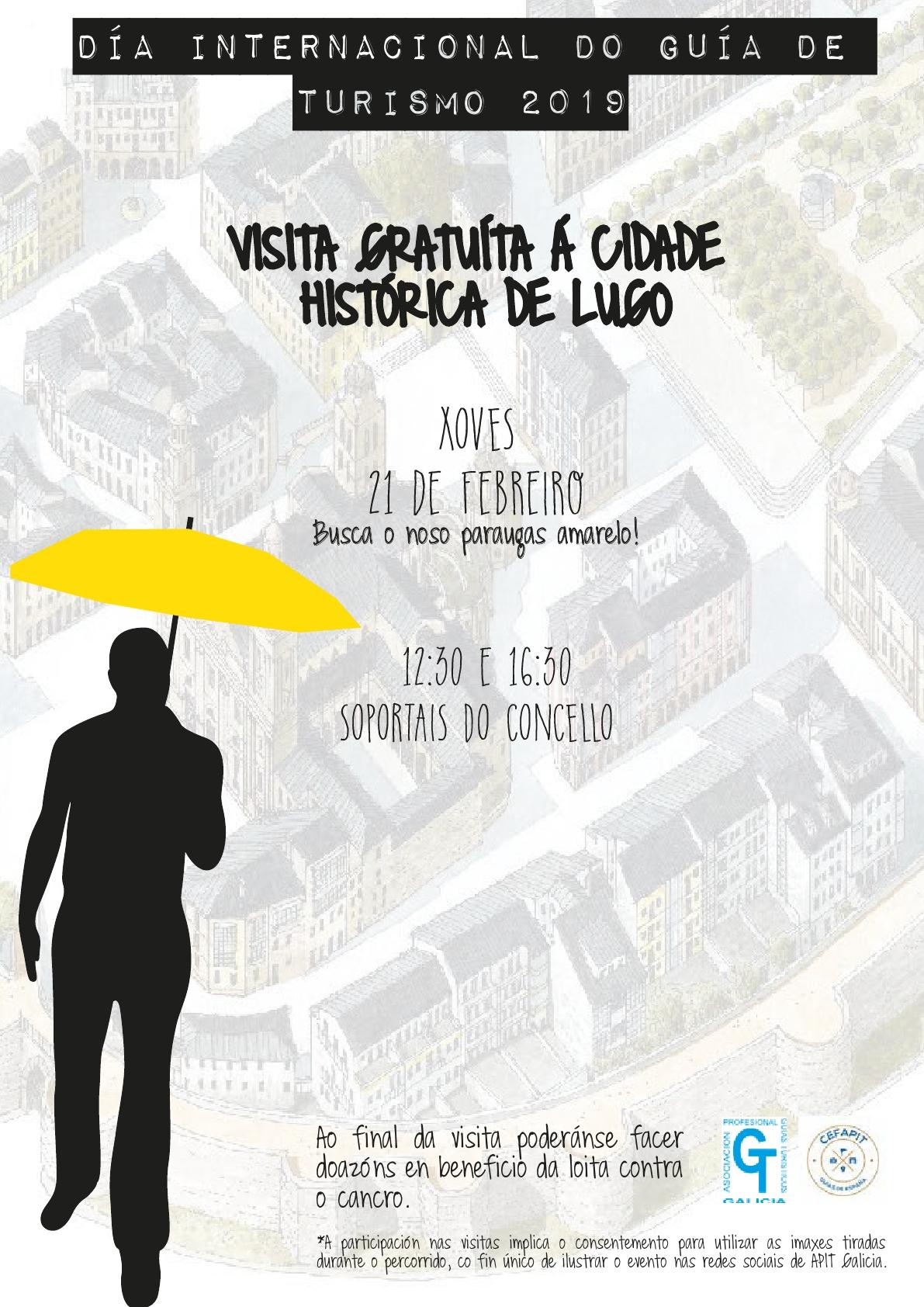 Visitas guiadas gratuítas polo centro de Lugo