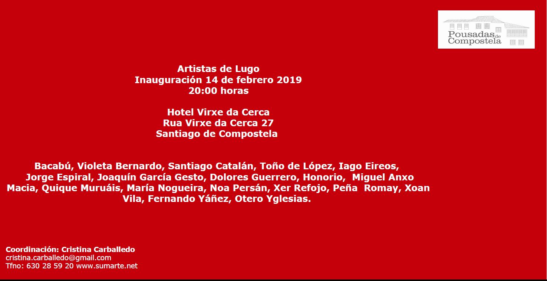 """Exposición """"Artistas de Lugo"""""""