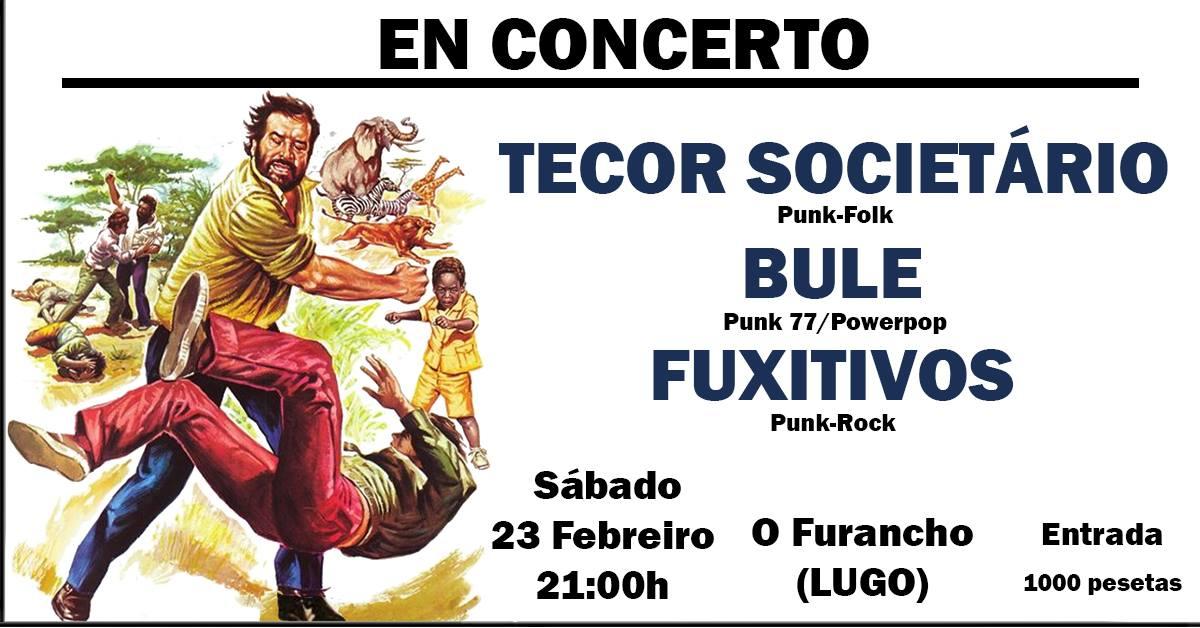 Concerto: Bule-Tecor Societario-Fuxitivos en Lugo