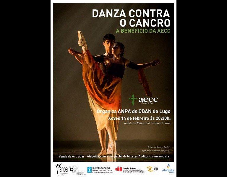 """Segunda edición da """"Gala de danza contra o cancro"""""""