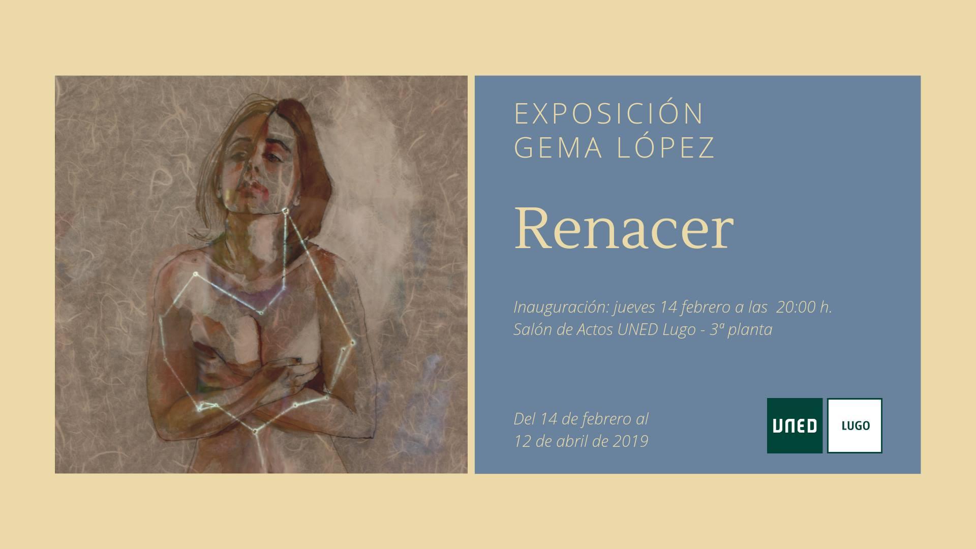 """Inauguración de la exposición """"Renacer"""" de Gema López"""
