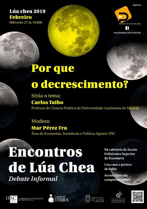 Encontros de Lúa Chea: Por que o decrescimento? con Carlos Taibo