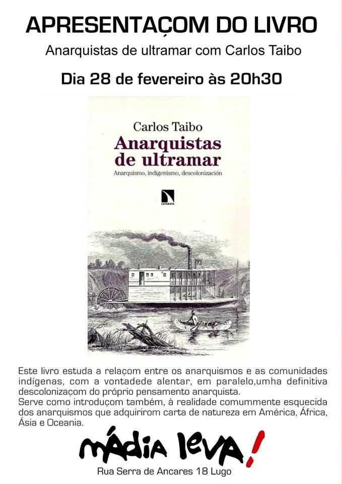 Apresentaçom do livro: Anarquistas de ultramar