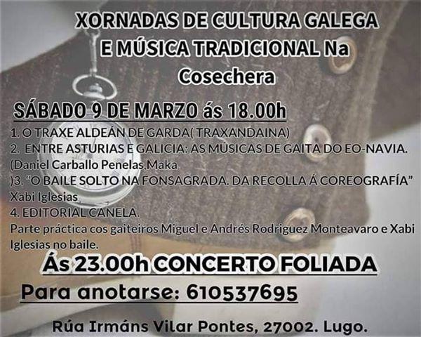 Xornadas de cultura galega e música tradicional