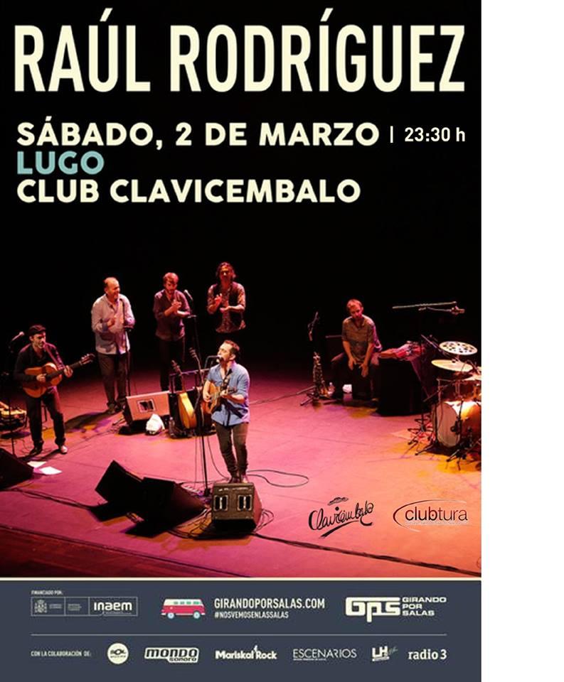 Concerto de Raúl Rodríguez no Club Clavicémbalo