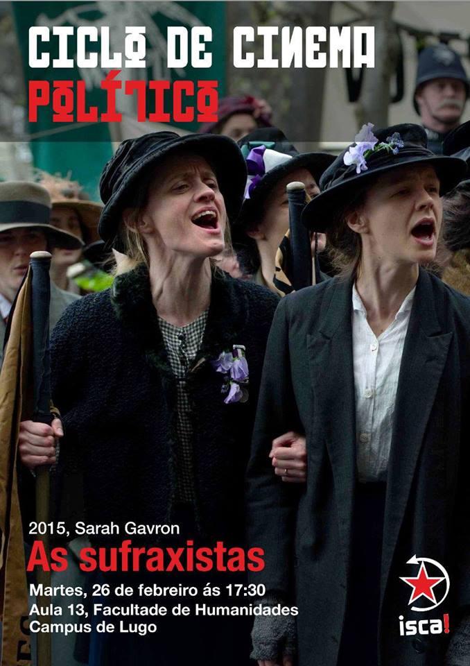 Ciclo de cinema político: Sufraxistas.
