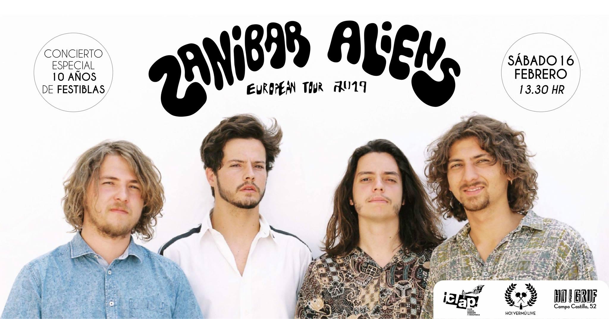 Zanibar Aliens & Ho! Vermú