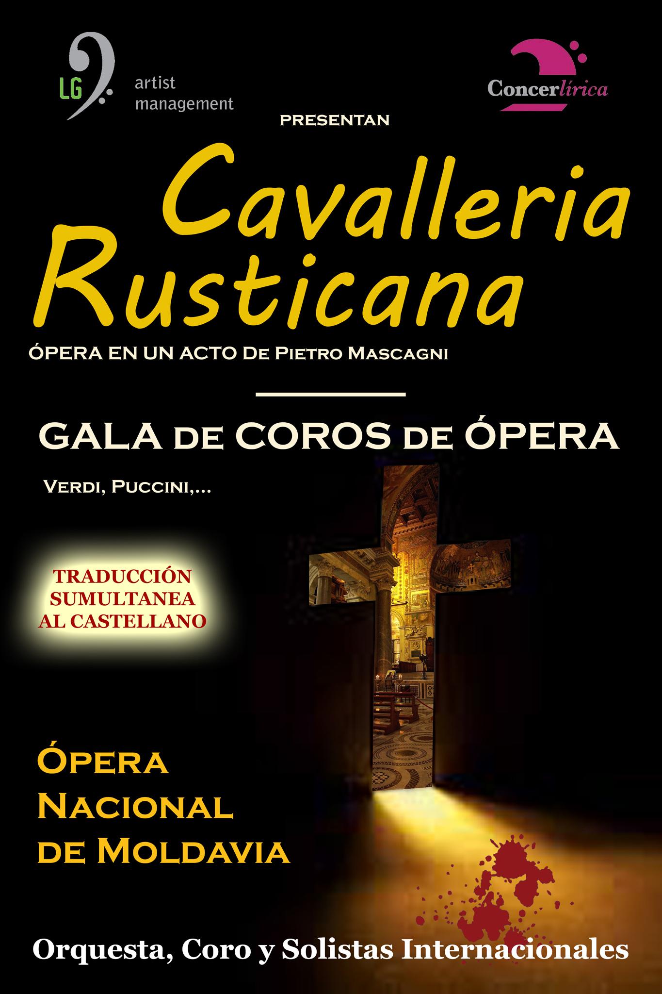 """Ópera """"Cavalleria Rusticana"""" en Vilalba"""