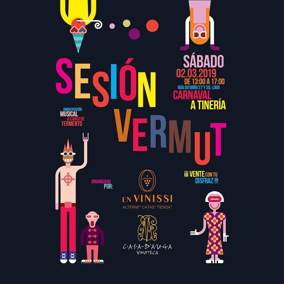 Sesión vermut carnavalesca en A Tinería