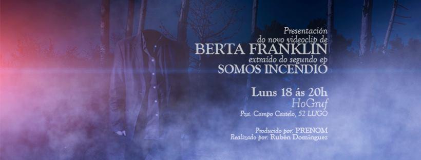 Berta Franklin presentan novo videoclip no Ho! Gruf