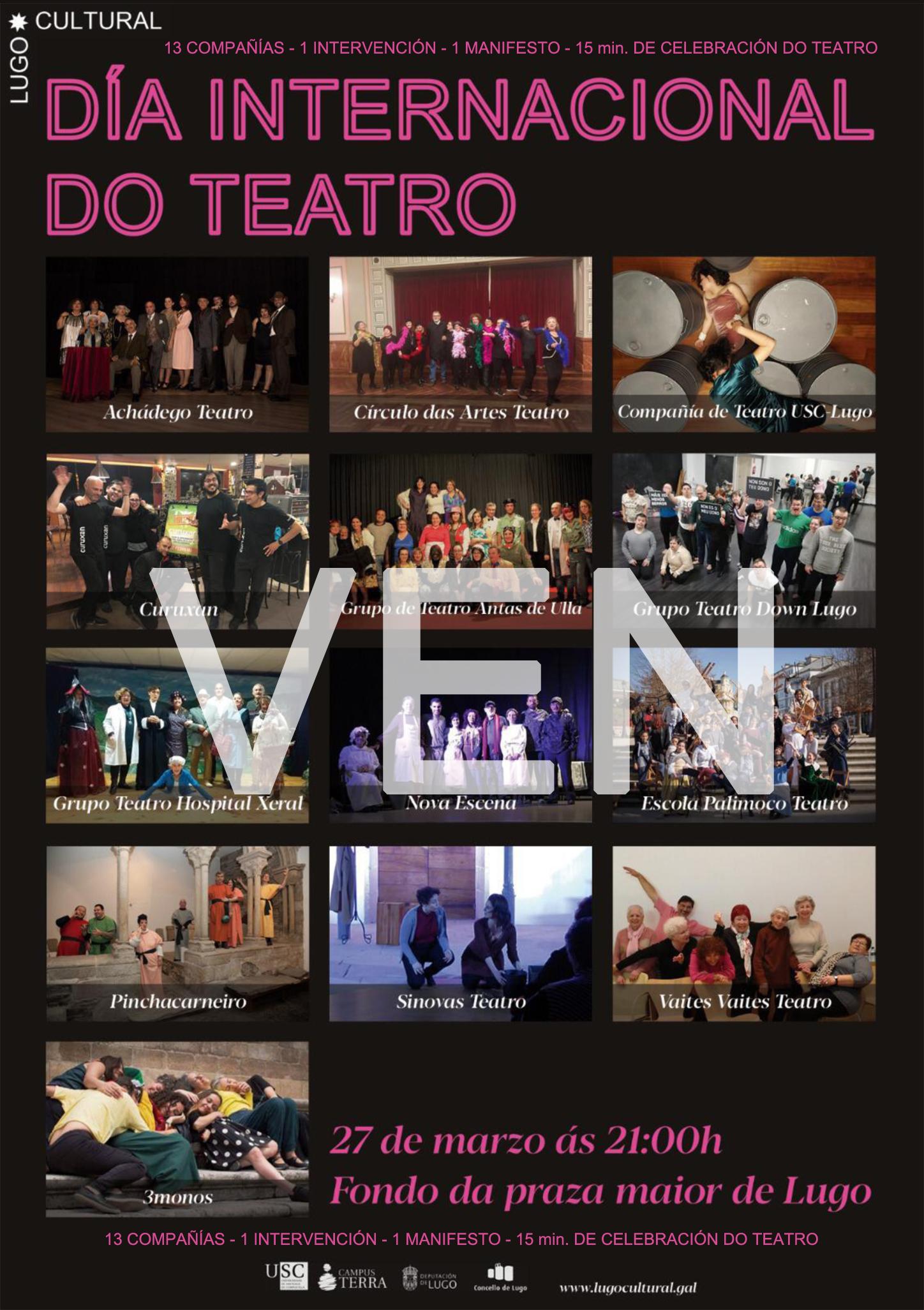 Día Internacional del Teatro