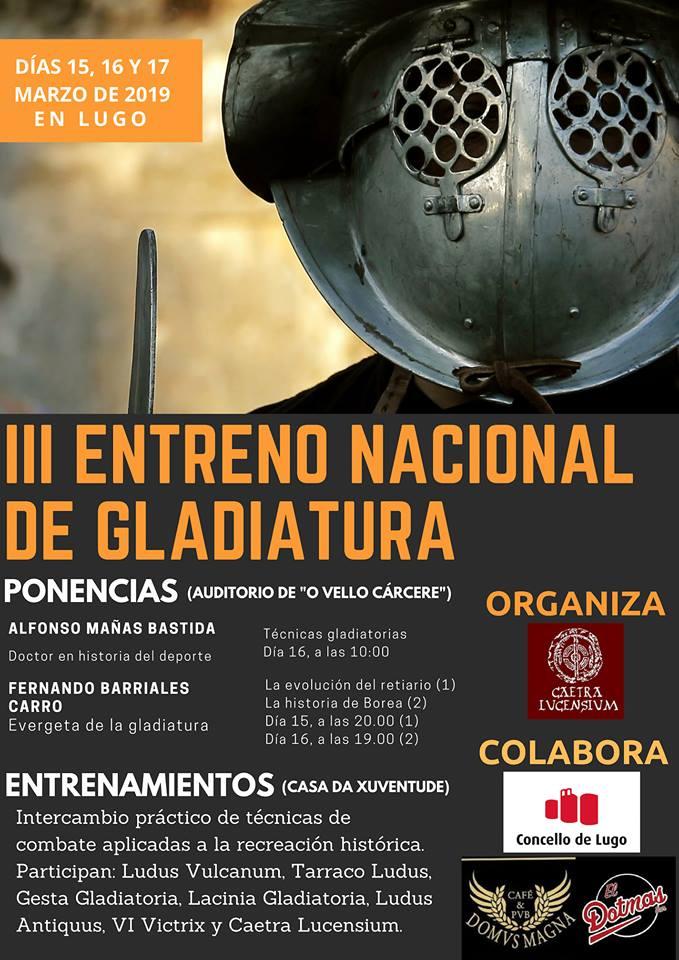 III Entreno Nacional de Gladiatura: