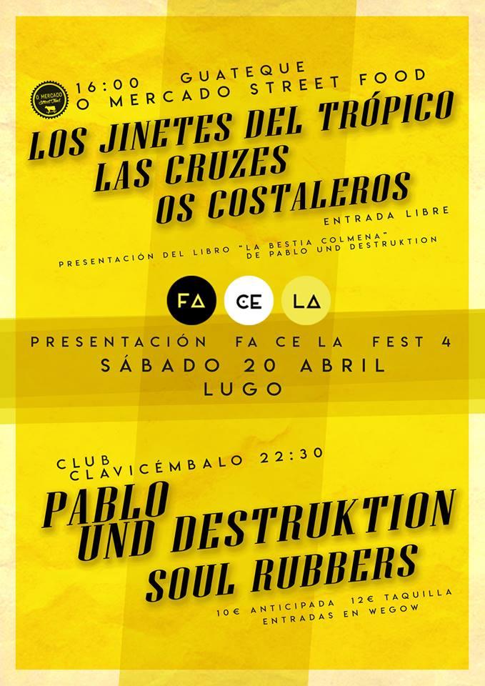 Guateque presentación Fa Ce La Fest 4 en Lugo