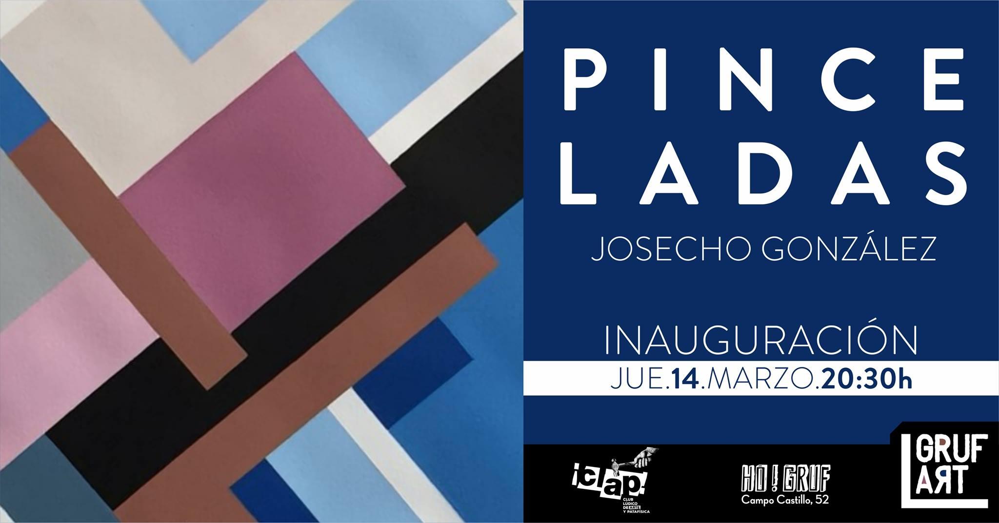 """Inauguración de exposición: """"Pinceladas"""" por Josecho González"""