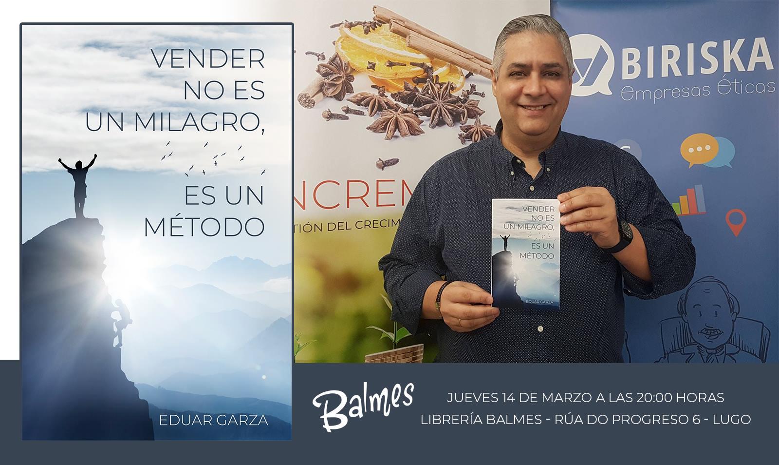 """Presentación del libro """"Vender no es un milagro, es un método"""""""