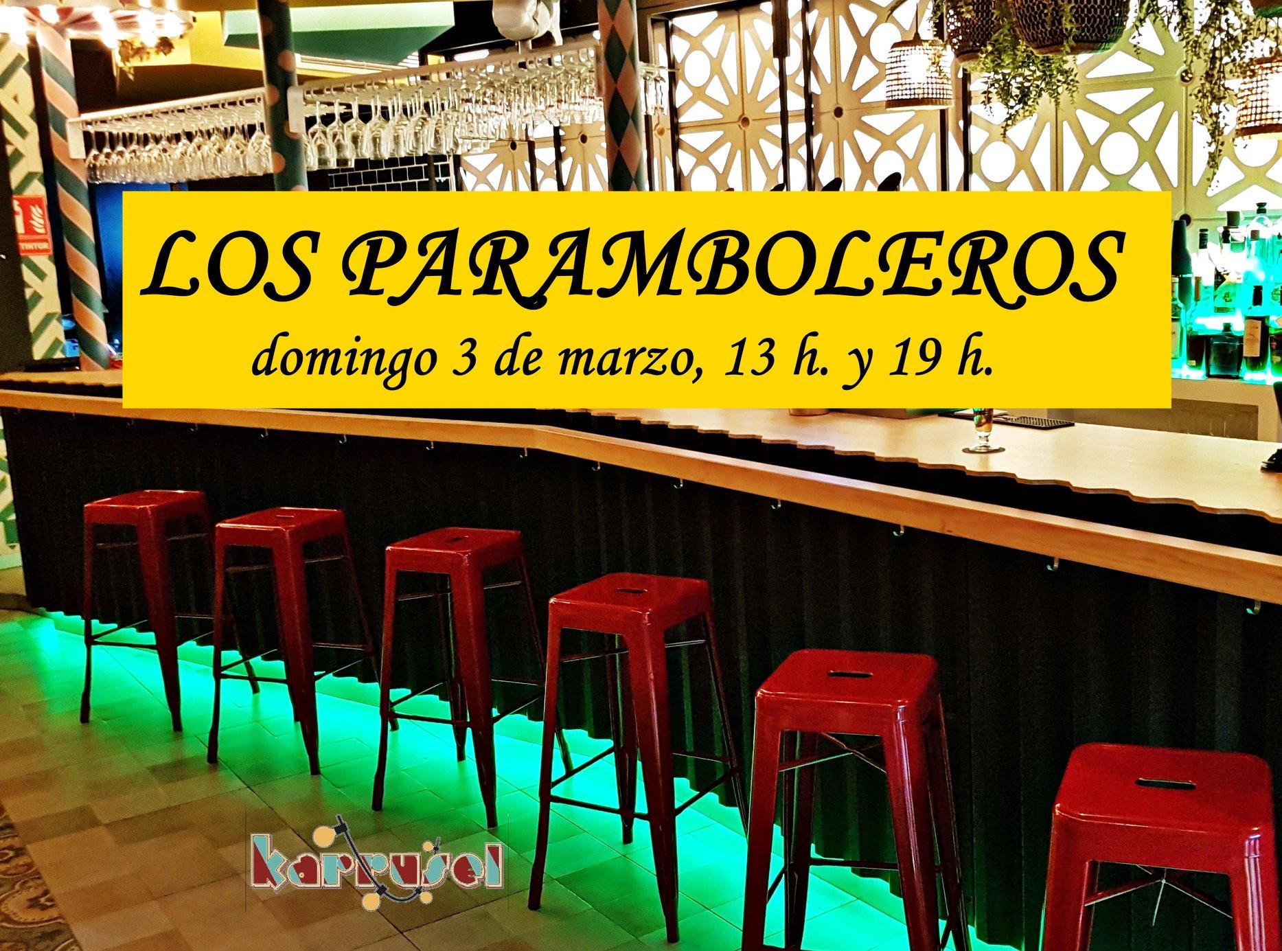 """Concierto de """"Los Paramboleros"""" en el Karrusel"""