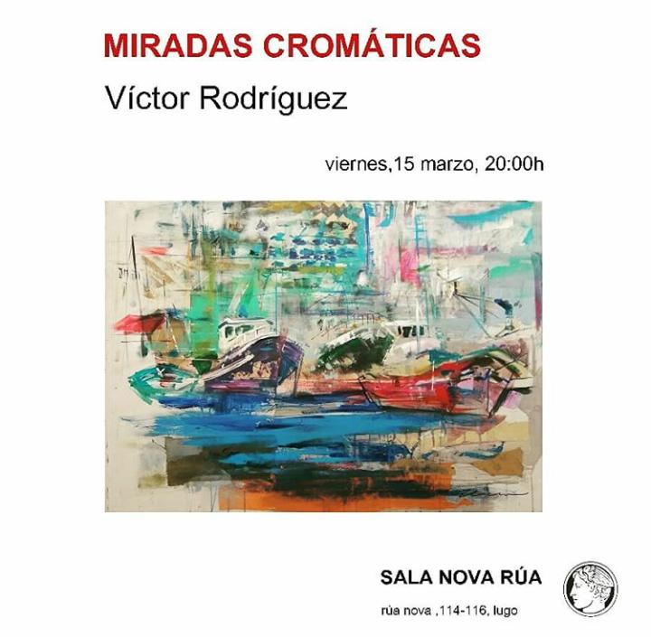 """Inauguración de la expo """"Miradas Cromáticas"""""""