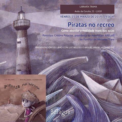 """Presentación do libro: """"Piratas no recreo"""""""