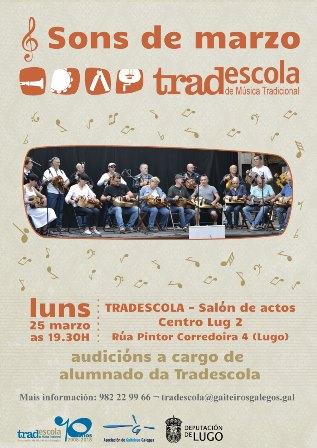 "Concerto ""Sons de Marzo"" na Tradescola de Lugo"