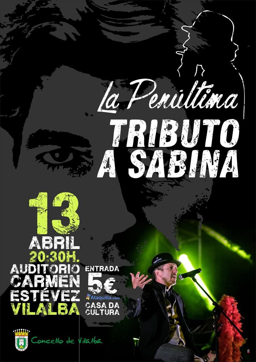 """Concerto: """"La Penúltima"""". Tributo a Sabina"""