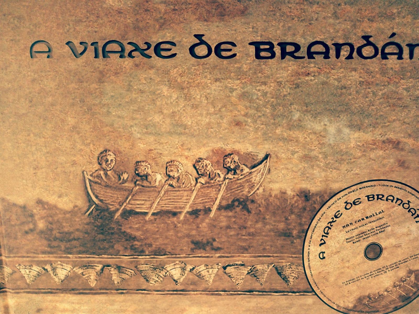 """Presentación do libro-disco """"A viaxe de Brandán"""""""