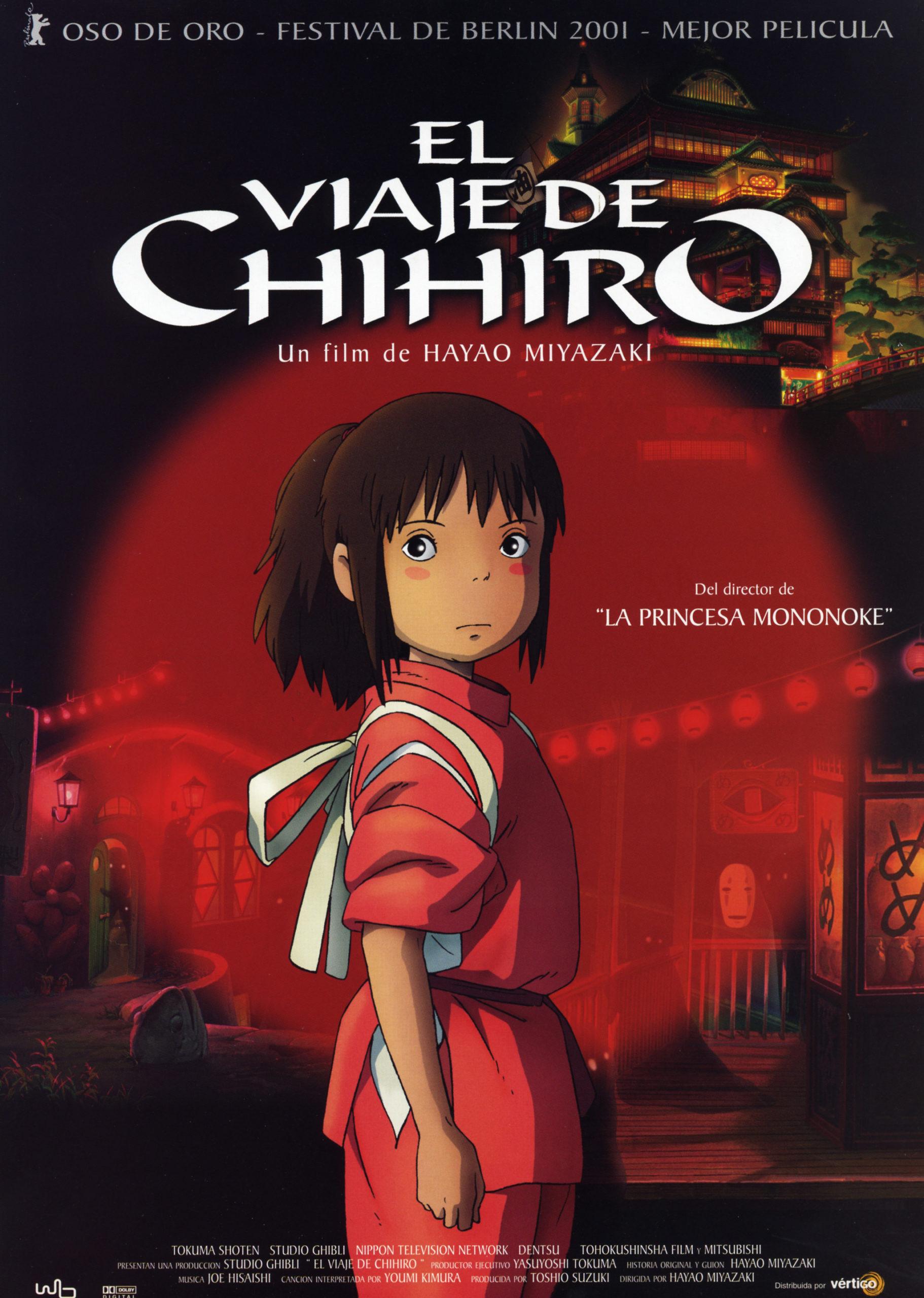 """A xenial """"A viaxe de Chihiro"""" nos Codex Cinema"""