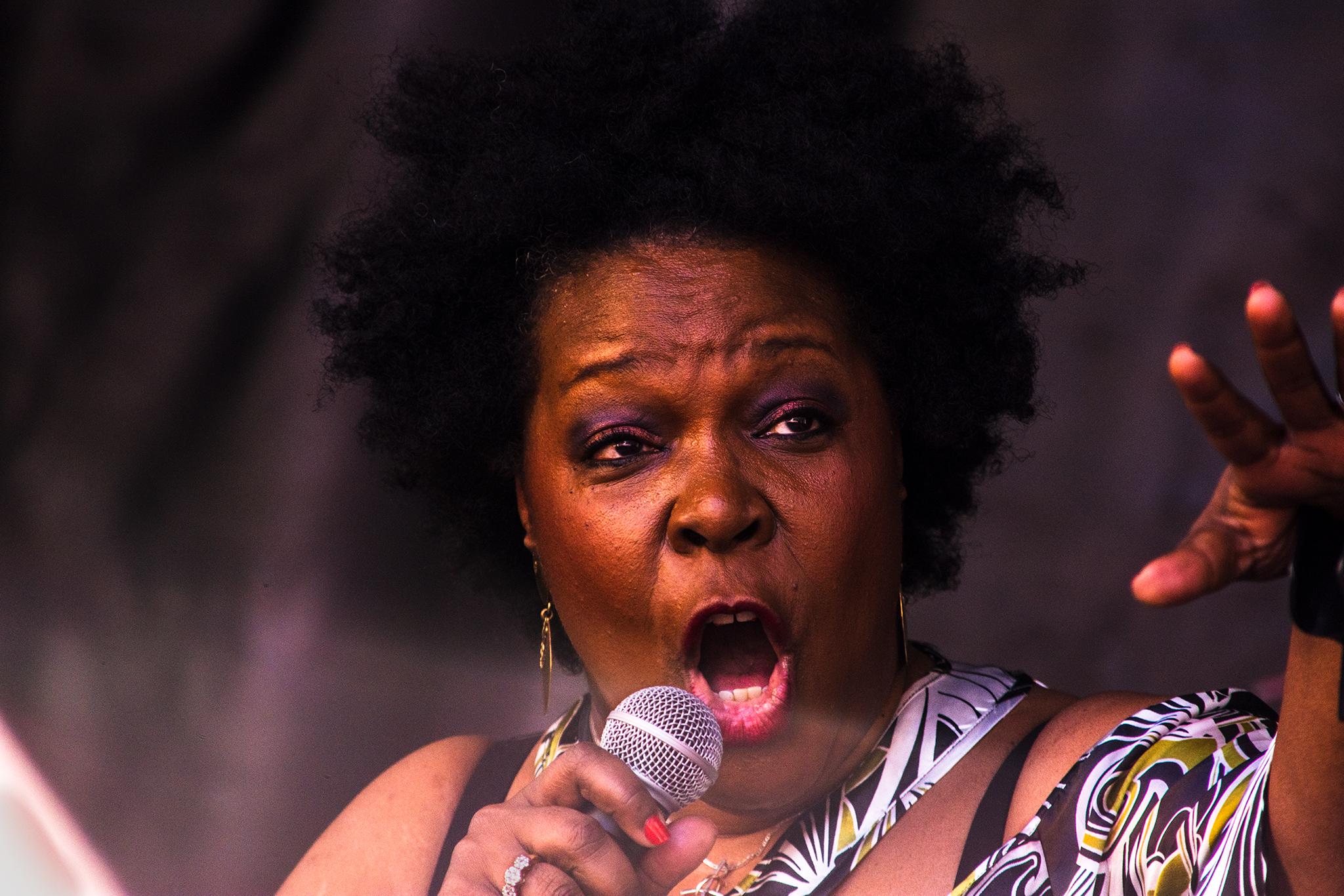 Fotografías del concierto de Gisele Jackson en Lugo