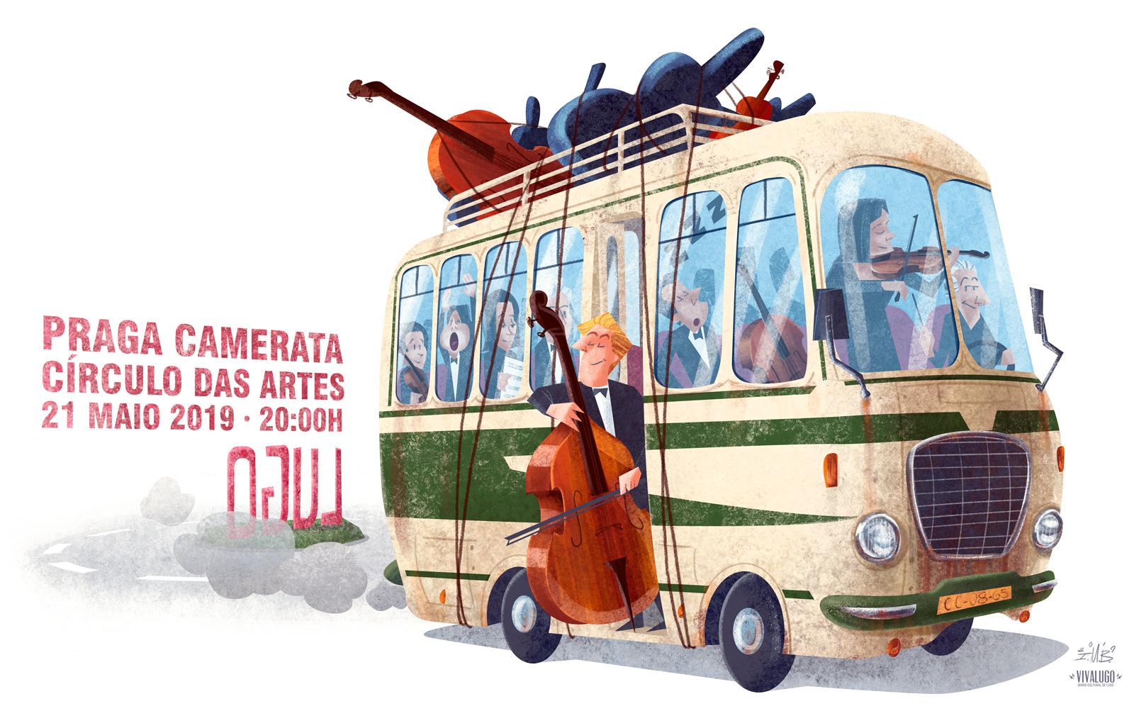 Concierto: Praga Camerata en el Círculo de las Artes de Lugo