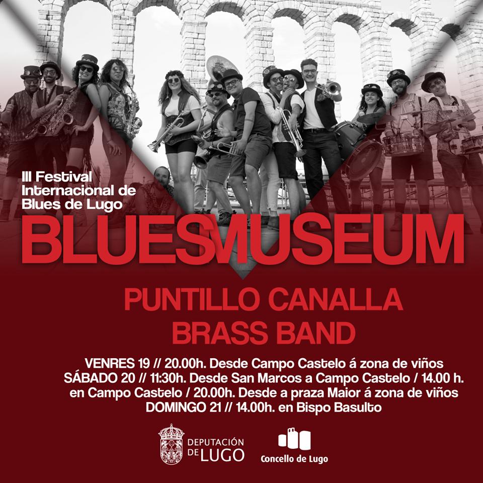 Cartel do Blues Museum 2019 – Festival Internacional de Blues de Lugo