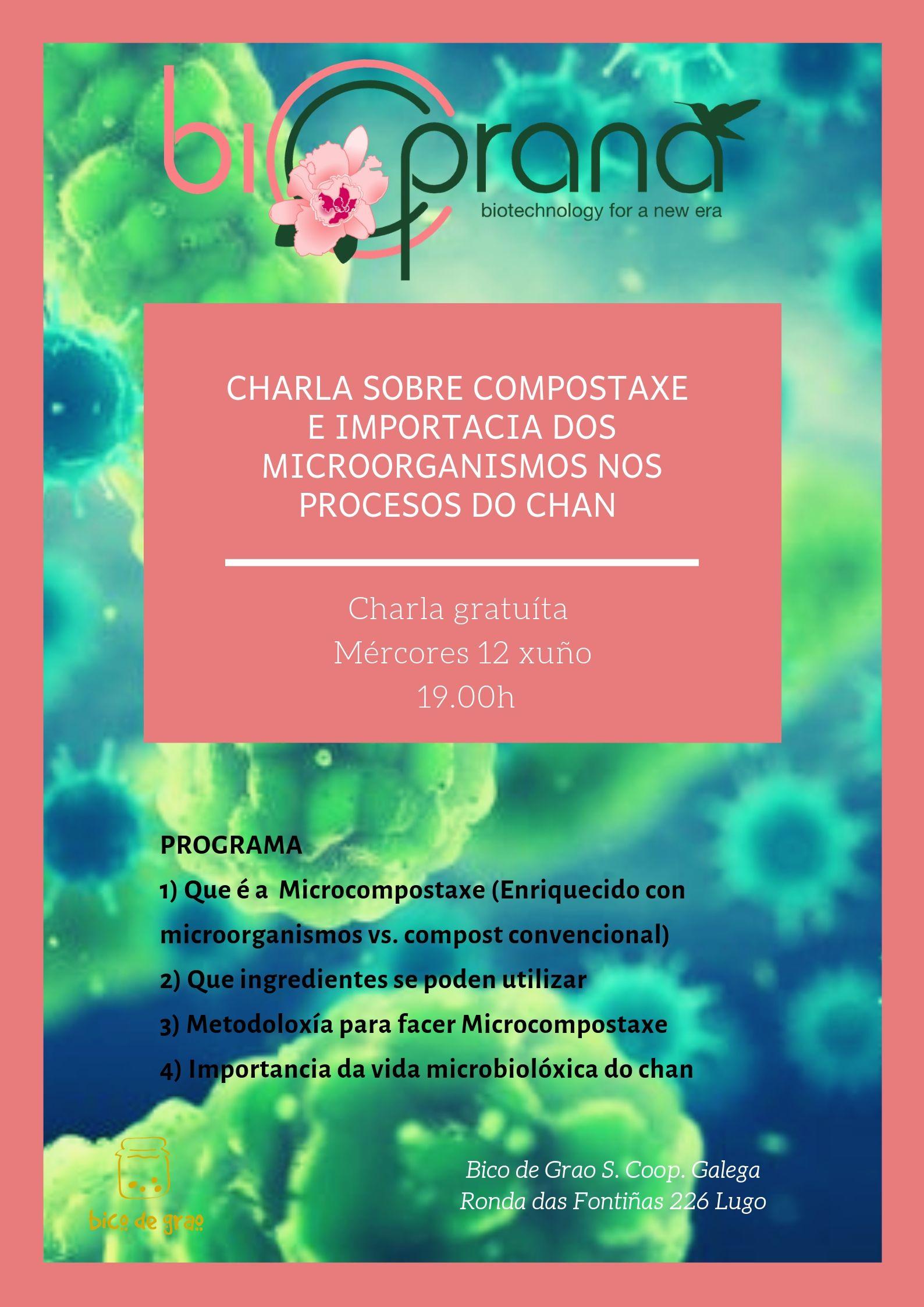 Bico de Grao Charla sobre compostaxe