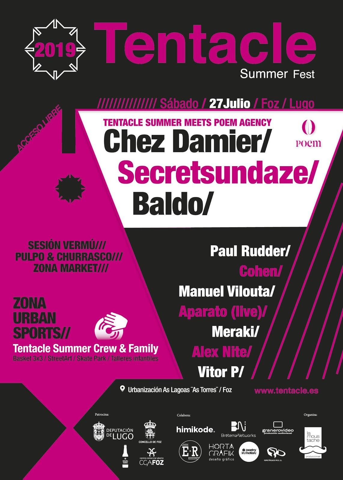 Tentacle Summer Fest 2019 en Foz - Lugo