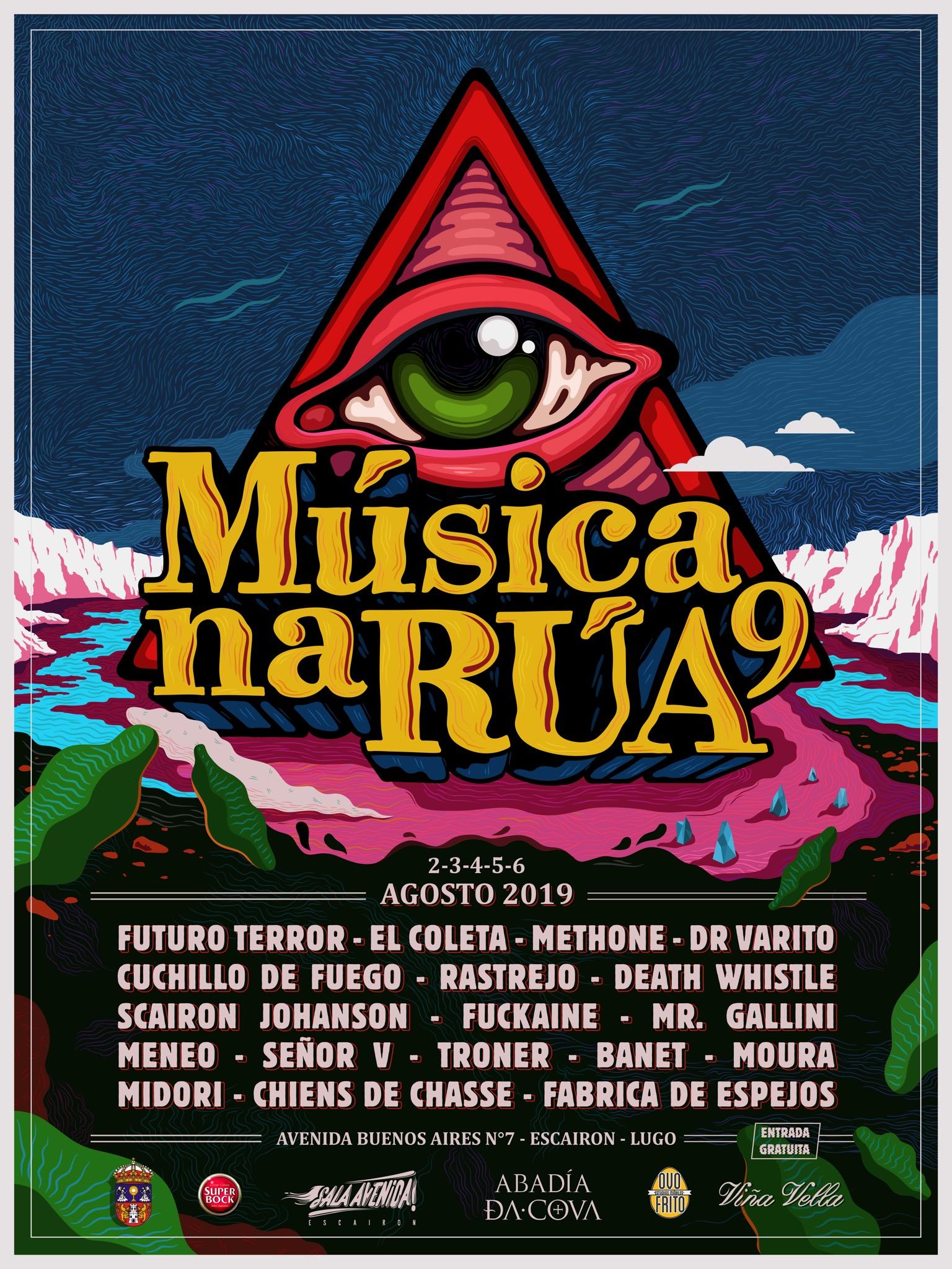 """Festival """"Música na Rúa"""" en Escairón"""