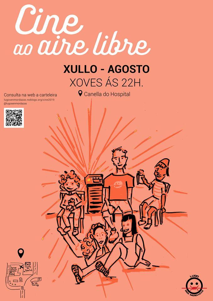 Cine en Lugo: cine ao aire libre