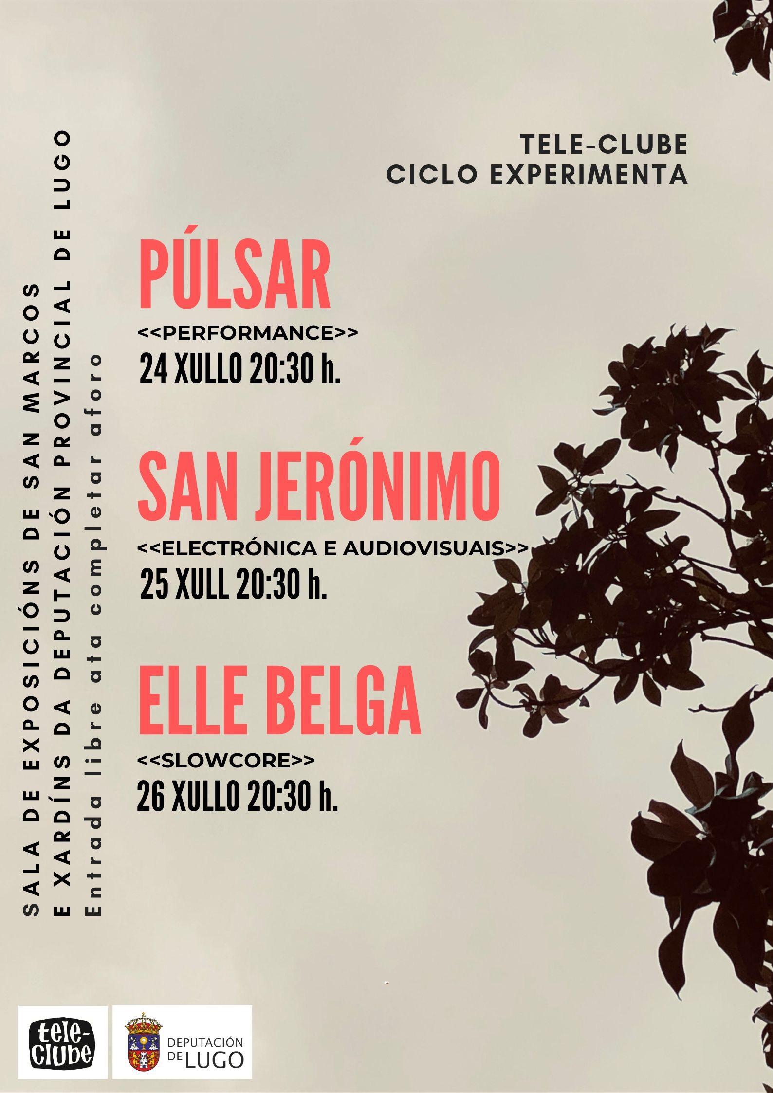 Cartel ciclo Experimenta Lugo