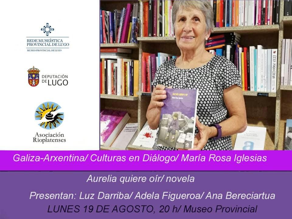"""Presentación do libro: """"Aurelia quiere oír"""""""